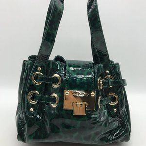 Jimmy Choo Green Small Ramona Bag